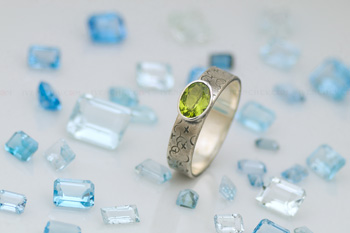 peridot sterling silver ring 350 11 0040